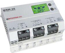Regolatore di Carica WRM20 MPPT 12/24v  Western Co. per kit fotovoltaico solare