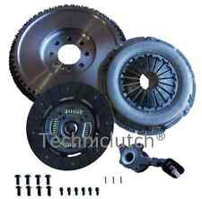 DUAL TO SOLID FLYWHEEL AND CLUTCH KIT, CSC, BOLTS FOR FORD MONDEO MKIII 2.0TDCI