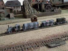 TRIX, WWII MILITARY TRAIN SET, SCALE N