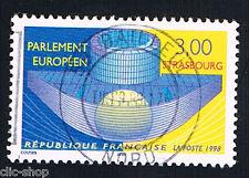 1 FRANCOBOLLO FRANCIA PARLAMENTO EUROPEO 1998 usato