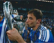 Branislav IVANOVIC Signed Autograph Photo AFTAL COA Champions League Trophy