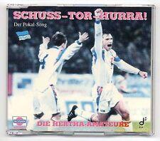 Hertha BSC Maxi-CD Schuss Tor Hurra Der Pokal Song 1993  berlin fußball amateure