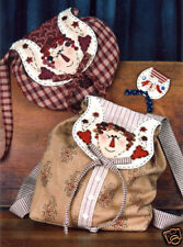 New  RAGGEDY ANN   Purse Back Pack Pin Pattern