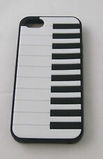 Apple iphone 5 PIANO KEYS cell phone case BLACK KEYBOARD easy fit 1 Piece