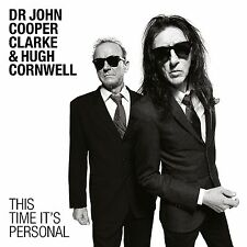 Dr John Cooper Clarke & Hugh Cornwell - This Time It's Personal - New CD - 14/10