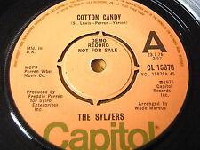 """THE SYLVERS - COTTON CANDY    7"""" VINYL DEMO"""