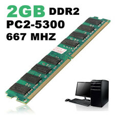 2GB PC2-5300 DDR2 667 MHz NON-ECC DIMM Memory AMD CPU Laptop PC Motherboard
