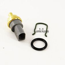 New Coolant Temperature Sensor w/ Clip O-Ring 2-PIN Fit For Audi VW 06A919501A