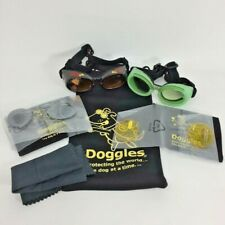 Dog Goggles Sunglasses UV Protection Eye Wear Anti Fog Shatterproof + Extra Lens