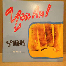 YOU AM I - SOLDIERS 7'  EP single OZ AUSSIE INDIE 1996 - TIM ROGERS - RARE VINYL
