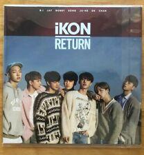 "IKON    ""Return""   CD                      K-Pop                  (100-3-30)"