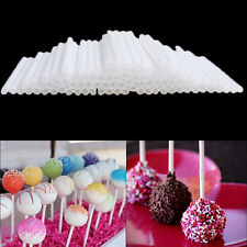 100x in Set Pop Food Sucker Sticks Chocolate Cake Lollipop Sweet Candy Making