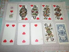 Alte Spielkarten Piatnik ca. 1920 Tarock Industrie und Glück 54 Karten