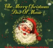 Merry Christmas Box Of Music 3-CD NEW SEALED 4 Seasons/Chuck Berry/Brenda Lee+