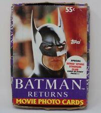 Batman Returns The Movie Trading Card Wax Box No X Nice!