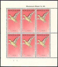 New Zealand 1959 Birds/Health/Welfare Fund/Teal/Nature/Ducks 6v shtlt (b768)