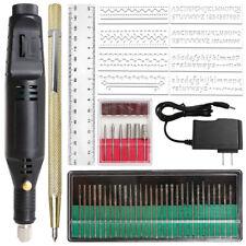 54Pcs Electric Micro Engraver Pen Mini Grinder Set DIY Engraving Tools Kit Metal