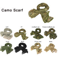 Camo Advantage Ghillie Sniper Veil Camo Scarf for Wargame Camouflage Netting