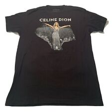 Celine Dion Double Sided Courage Rare 2020 Concert Large L T-Shirt