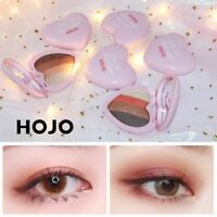 HOJO 4 couleurs Sweet Heart ombre à paupières Palette Mat Shimmer Eyeshadow FR