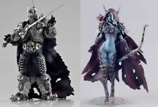 World of Warcraft Forsaken Queen Sylvanas & Lich King Arthas Lot 2 Figure Set