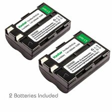 2x Kastar Battery for Nikon EN-EL3a ENEL3a D50 D70 D70s D100