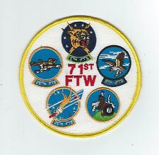 80s 71st FLYING TRAINING WING GAGGLE patch