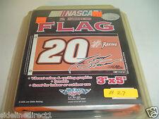 AS IS Flag SALE Tony Stewart #20 NASCAR 3x5 flag Home Depot Racing Banner #27