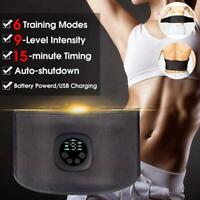 Electric Vibration Body Slimming Belt Waist Massage Weight Heating Burning I9H8