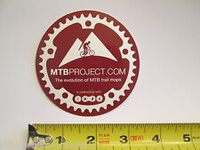 "ONE - 3"" MTB Project IMBA  Bike Mountain Bicycle Ride Frame STICKER DECAL BFC 🚲"