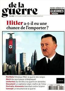 GUERRES & HISTOIRE HS THEMATIQUE n°1 De la guerre - Revue neuve