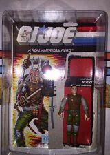 Budo 1988 GI JOE Figure Lot W/star Case, Full File Card, & Accessories A