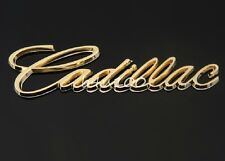 3D Metal Emblem Badge Sticker Decal Chrome Auto Car cadillac Gold bR37-G