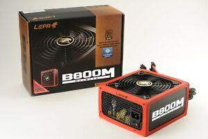 Lepa MaxBron 800W 80+ Bronze Semi-Modular Power Supply - Refurbished