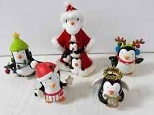South Pole Pals Penguins , Hallmark Keepsake Ornaments  Lot 2007