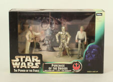 Star Wars POTF2 Purchase Of The Droids 3 Pack MIB Kenner