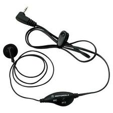 Motorola 53727 Headset PTT Earbud 2.5mm Single Pin MR350 MT350 MU350 MJ270 MH230