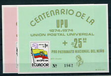 Ecuador Block 66/67 postfrisch / UPU .....................................2/1161