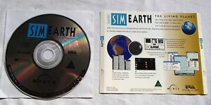 Sim Earth The Living Planet PC CD Game for Windows Vintage Software