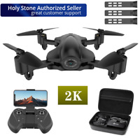 Holy Stone HS165 RC Drone with 2K HD Camera 5G FPV Quadcopter GPS Follow Me+Case