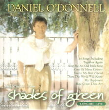 Daniel O'Donnell - Shades Of Green - In Concert - CD - New / Unsealed