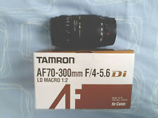 TAMRON AF 70-300mm f/4-5.6 for Canon