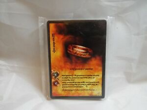 LORD OF THE RINGS TCG FELLOWSHIP OF THE RING ANTHOLOGY 18 CARD TENGWAR SET