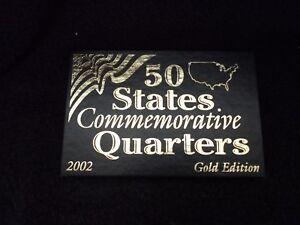 2002 Commemorative State Quarters~Denver, Philadelphia & Gold Edition - Sets