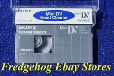 SONY MINI DV CAMCORDER HEAD CLEANING TAPE / CASSETTE. GENTLE DRY TYPE DVM4CLD