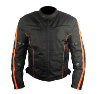 Gallanto Classic Brown Waxed Cotton Motorcycle Jacket Textile Biker Introductory Price