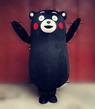 2018 Cosplay Kumamon Bear Kumamoto Mascot Costume Japanese Character Dress Suit