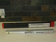 """David White laser level Model Ll-100 24"""" level w/100' laser beam & Case 1996 Htf"""