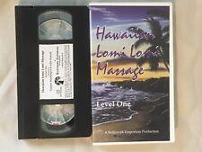 Hawaiian Lomi Lomi Massage Lv. One - VHS Video Tape - Level 1
