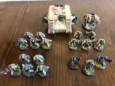 Warhammer 40,000 Ángeles oscuros Alamuerte Ejército-Totalmente Pintado